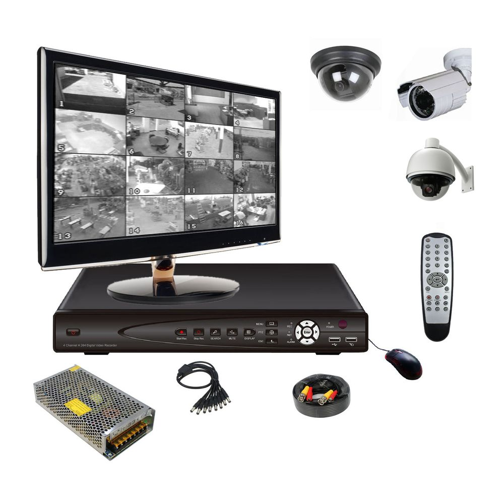 Монтаж видеонаблюдения и сигнализации