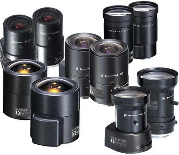 Выбор объектива видеокамеры