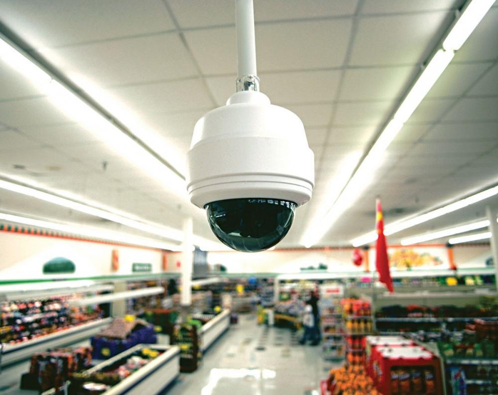Система видеонаблюдения в магазин