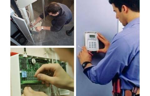 Монтаж и обслуживание систем видеонаблюдения и СКУД
