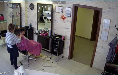 Видеонаблюдение в салоне красоты