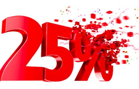 Скидка 25% на новые камеры видеонаблюдения
